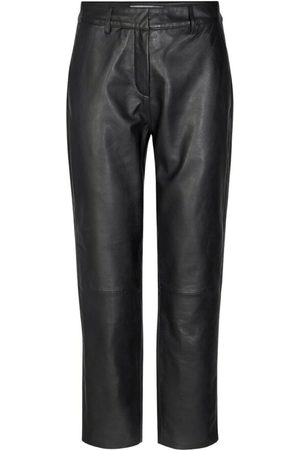 Co`Couture Sort Co`Couture Phoebe Leather Chino Bukse