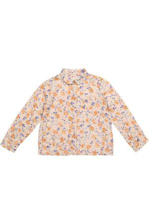 BONPOINT Jente Skjorter - Pea floral cotton twill shirt