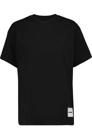 Jil Sander Dame Kortermede - Set of three organic cotton T-shirts