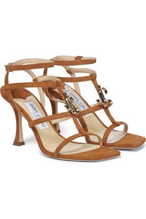 Jimmy Choo JC 90 suede sandals