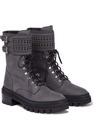 Alaïa Chunky combat boots