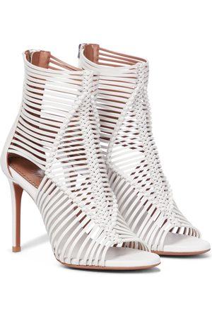 Alaïa Cut-out ankle boots