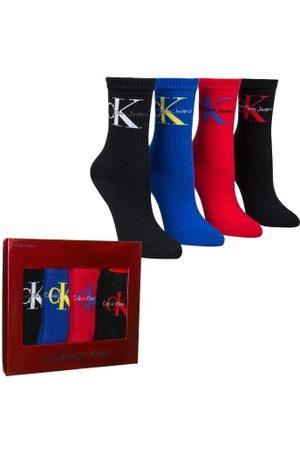 Calvin Klein Dame Jeans - Calvin Klein 4-pakning Hudson Jeans Logo Short Crew Gift Box