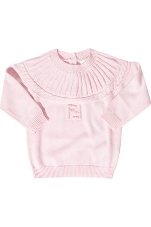 Fendi Knitted sweater with logo
