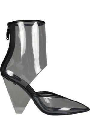 Balmain Dame Skoletter - Transparent ankle boots 95