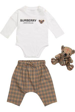 Burberry Baby Thomas Bear three-piece set