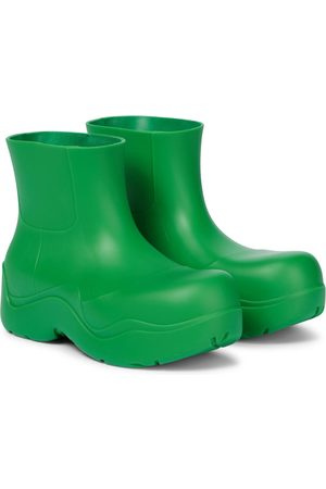 Bottega Veneta Puddle rubber ankle boots
