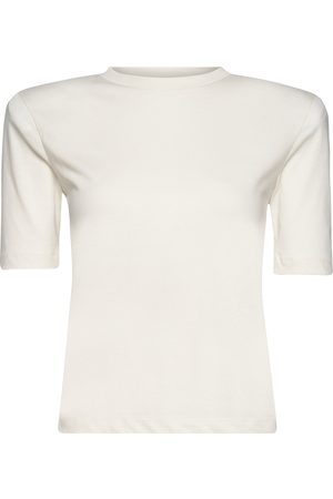 REMAIN Birger Christensen Xenia O-Neck T-shirts & Tops Short-sleeved