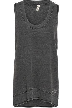 Free People Cozy Girl Tank T-shirts & Tops Sleeveless Grå