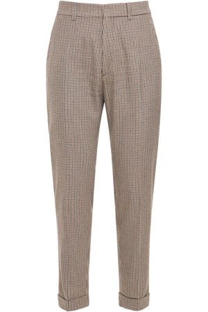 Dsquared2 Herre Chinos - Houndstooth Wool Blend Pants