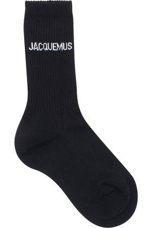 Jacquemus Les Chaussettes Printed Cotton Socks