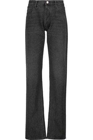 The Attico High-waisted baggy jeans