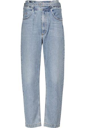 AGOLDE Riya high-rise tapered jeans