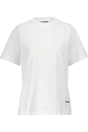 Jil Sander Plus set of 3 cotton jersey T-shirts