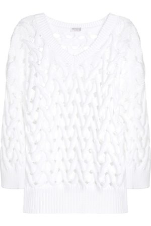 Brunello Cucinelli Exclusive to Mytheresa – Cotton-blend sweater