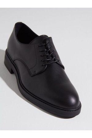 SELECTED Herre Pensko - Slhblake Leather Derby Shoe B Noos Dresset Black