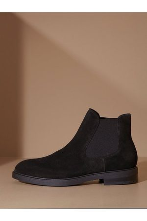 SELECTED Slhblake Suede Chelsea Boot B Noos Chelsea boots Black