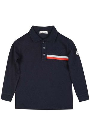 Moncler Baby Branded LS Polo