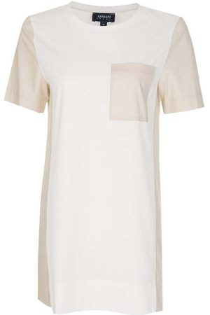 Armani Contrasting Pocket + Panels T-Shirt