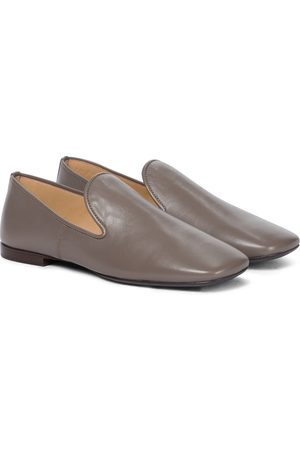 LEMAIRE Leather loafers