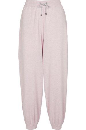 Brunello Cucinelli Dame Chinos - Wool, cashmere and silk sweatpants