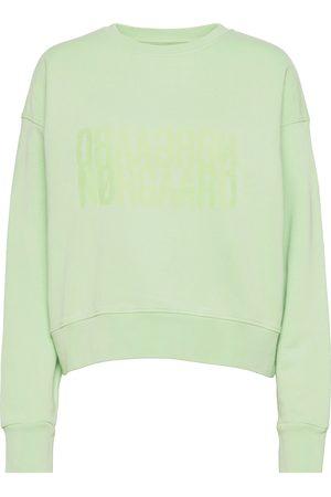 Mads Norgaard Organic Sweat Tilvina Sweat-shirt Genser Grønn