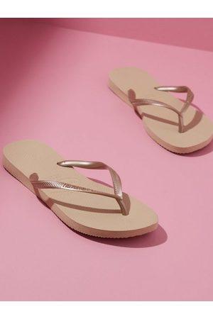 Havaianas Dame Flip flops - Slim Sand Grey
