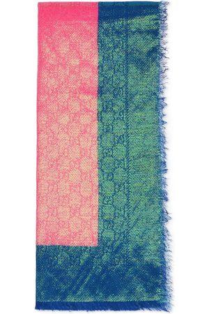 Gucci Herre Skjerf - GG Supreme iridescent scarf