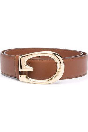 Gucci Herre Belter - G-buckle leather belt