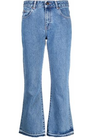 RED Valentino Dame Bootcut - Cropped flared jeans