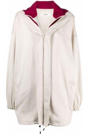 Isabel Marant Dame Fleecejakker - Isla oversized fleece hoodie