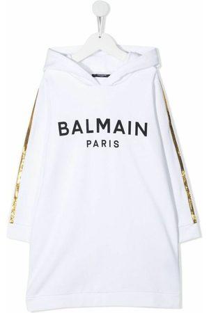 Balmain Logo-print dress