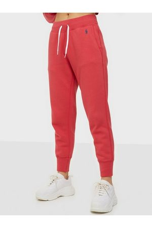 Polo Ralph Lauren Dame Joggebukser - Po Sweatpant-Ankle-Pant Red