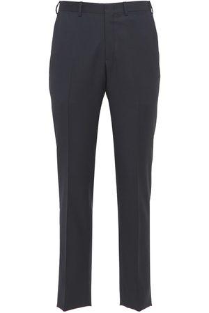 BRIONI Herre Chinos - 18.5cm Vail Virgin Wool Pants