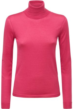 VALENTINO Dame Pologensere - Cashmere & Silk Blend Turtleneck Sweater