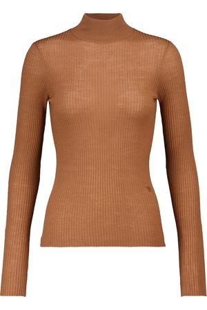 Nanushka Dame Strikkegensere - Harri merino wool mockneck sweater