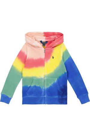Ralph Lauren Tie-dye cotton jersey hoodie