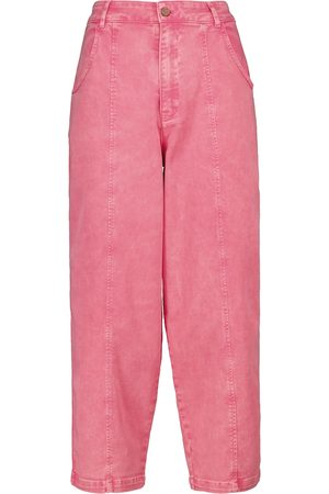 Chloé Tapered high-rise jeans