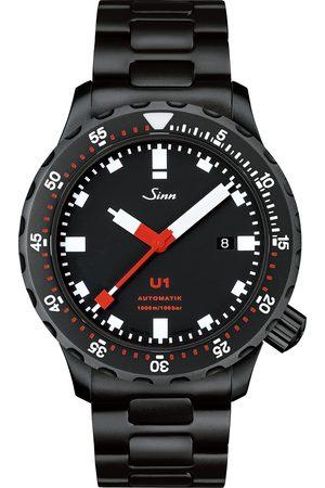 Sinn Herre Klokker - U1 Black Hard Coating Diving Watch 44mm Black