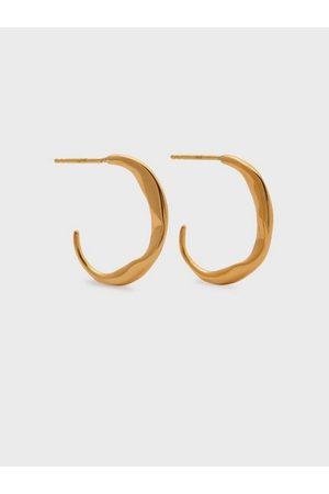 CORNELIA WEBB Dame Øreringer - Polished Organic Hoop Earring