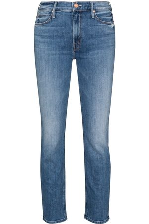 Mother Dame Skinny - The Dazzler cropped jeans