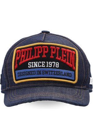 Philipp Plein Herre Capser - Patched baseball cap