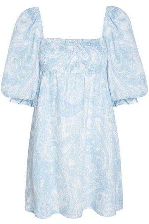 FAITHFULL THE BRAND Calista Mini Dress Kjole