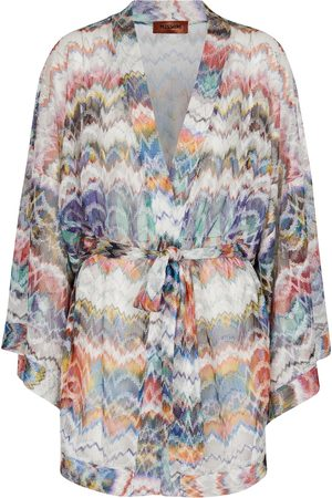 Missoni Knitted belted minidress