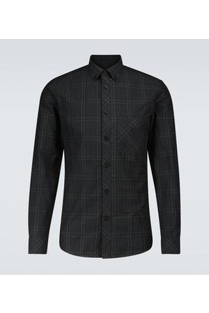 Burberry Simms checked cotton shirt