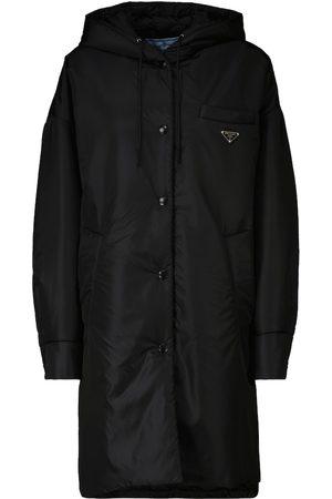 Prada Dame Regnjakker - Nylon raincoat
