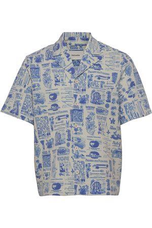 Holzweiler Kia Print Shirt Kortermet Skjorte