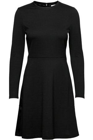 Calvin Klein Recycled Milano Dress Knelang Kjole