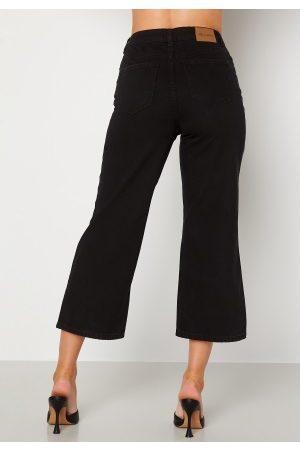 Happy Holly Pamela wide leg culotte jeans Black 34