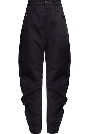 Diesel Dame Straight - D-Plata Jogg jeans